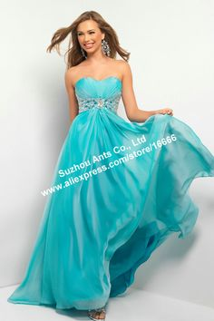 2013 Long Red Chiffon Evening Ball Cocktail Prom Bridesmaid