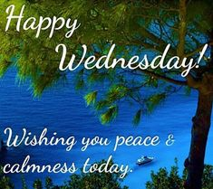 Happy Wednesday Wishing You Piece And Calmness Today wednesday hump day wednesday quotes happy wednesday wednesday quote happy wednesday quotes Wednesday Morning Greetings, Wednesday Morning Quotes, Wednesday Hump Day, Blessed Wednesday, Wednesday Wishes, Wonderful Wednesday, Good Morning Quotes, Blessed Week, Wacky Wednesday