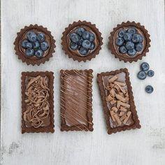 Tarteletas de Chocolate