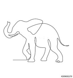 sketch of an elephant continuous line sketch elephant sketch elephant Elephant Line Drawing, Elephant Sketch, Elephant Illustration, Elephant Art, Elephant Tattoo Design, Elephant Design, Small Elephant Tattoos, Line Tattoos, Small Tattoos