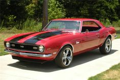 '68 Chevy Camero - Candy Apple Red