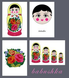 Babushka Cards2 by nebo-peklo