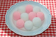 Crochet Pattern for Marshmallows / Sweets by Bottletopboy, £2.00