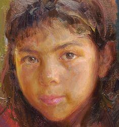 oil painting portrait techniques brittany cu10 photo