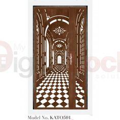 Картинки по запросу 3d image cut on door