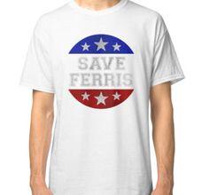 """Save Ferris Star Grunge T498 "" Classic T-Shirts by selmaemka | Redbubble"