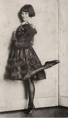 Louise Brooks, age 12