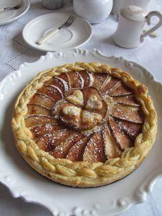 PAvla STUdihradová: Hruškový koláč s pudinkem Dnes jeden velmi rychlý...