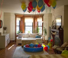 primary colors birthday party