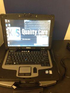Dell XFR D630 Toughbook laptop Intel Core 2 Duo 2.0 GHz 3 GBs RAM Win7 160 GBs #Dell