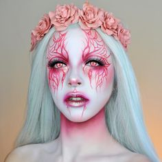 Sfx Makeup, Cosplay Makeup, Costume Makeup, Makeup Art, Beauty Makeup, Hair Makeup, Fantasy Make Up, High Fashion Makeup, Halloween Makeup Looks