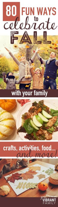 WHOA! What an AMAZING list of fall activities for families! Apple-inspired crafts, pumpkin recipes and crafts, fun fall outdoor activities, fall-inspired field trips, classroom teaching activities--SO MANY incredible ideas here!!