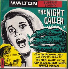 The Night Caller. Best Movie Posters, Horror Movie Posters, Horror Films, Film Posters, Super 8 Film, Monster Stickers, Movie Reels, 8mm Film, Lon Chaney