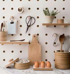 #roomdesigns #pegboard #polkadots #littlespaces #idealhomes #roomdesigns