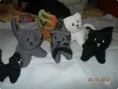 Master class Knitting, Knitting, Sewing: Kittens Threads. Photo 2