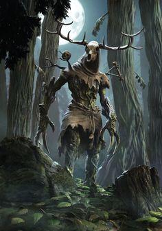 Witcher Monsters, Dnd Monsters, The Witcher Game, Witcher Art, Medieval Fantasy, Dark Fantasy, Fantasy Art, Labyrinth Goblins, Dark Power