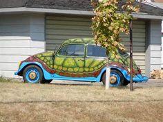 vw turtle car