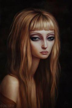 Surrealist figurative paintings by Lori Earley