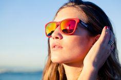 Northweek Creative Tortoise arms, Matte red front and red lenses  #Northweek #Sunglasses #Barcelona http://www.northweek.com/