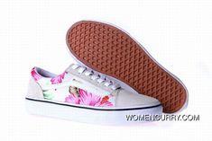2e3d42ec1c Vans Hawaiian Floral Old Skool Womens Shoes For Sale