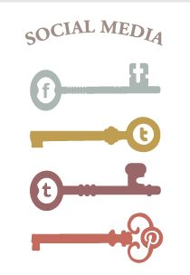 Love these social media icons from Sunnie Brook's Beauty Blog.