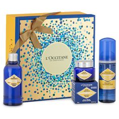 Coffrets Cadeaux L'Occitane, achat Coffret Cadeau Soin du Visage Précieuse prix promo L'Occitane 59.00 € Perfume, Mousse, Office Supplies, Gifts, Men Gifts, Man Women, Women, Wine Gift Sets, Gaming