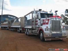 Kenworth T909 Road Train