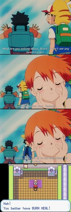 Ash strikes again lol Pokemon Pokemon Comics, Gif Pokemon, Pokemon Funny, Pokemon Stuff, Pokemon Quotes, Funny Jokes, Hilarious, Funny Texts, Too Funny