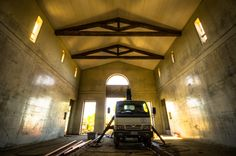 Brilliant photographer Adam Allegro captures the new cellar roof in all its glory