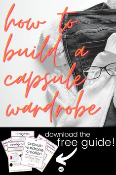 A capsule wardrobe is an excellent way to declutter your closet and have a more mindful wardrobe. This step by step guide will teach you how to build a capsule wardrobe in 6 easy steps! #firstcapsulewardrobe #howtobuildacapsulewardrobe Declutter Your Life, Keep It Simple, Step Guide, Mindful, Capsule Wardrobe, Minimalism, Easy, Closet, Armoire