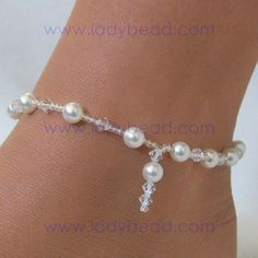 how to make ankle bracelets with beaded - Google Search