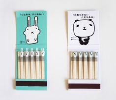 Interaction we like / Matches / Face / Smiley Tip / Not for children though / at Design Binge