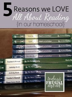 5 Reasons We Love All About Reading - an indepth review why this curriculum has worked so well for our family. :: todaysfrugalmom.com