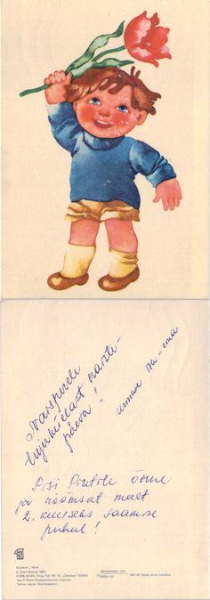 L.Härm:Boy with flower, 1982