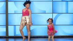 The adorable, pint-sized dancer was back with her mom for another astounding performance worthy of Beyoncé herself! Take a look.