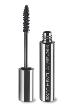 Toss your annoying falsies out the window. Mirabella's new mascara helps fortify the lash fibers, which creates longer, thicker eyelashes — no glue necessary.Mirabella Lash Luxe Mascara, $26, at Mirabella.