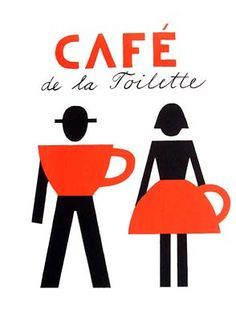 """""""Café de la toilette"""", Design: Jiří Slíva, Československá, 2011"""