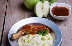 Ζουμερό κοτόπουλο με πουρέ πατάτας και ξινόμηλο Kai, Cooking, Kitchen, Brewing, Cuisine, Cook, Chicken