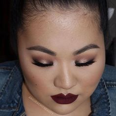 Shout to out to my VIP @anaurachicbeauty wearing our #Jason liquid lipstick and our #Grace lashes.