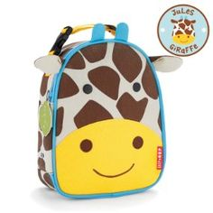 Amazon.com: Skip Hop Zoo Insulated Lunch Bag, Jules Giraffe: Baby