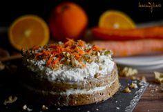 Mrkvový dort s kokosovým krémem Cake, Desserts, Recipes, Food, Tailgate Desserts, Deserts, Mudpie, Meals, Dessert