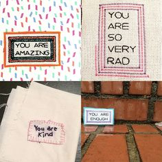 You Are So Very Beautiful Craftivism Project