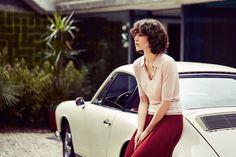 Sexy Model + Even Sexier Vintage Porsche 911 = Amazing Photo Set. This works on every level. Porsche 911, House Of Holland, Palm Springs, Steve Mcqueen Style, Tory Burch, Porsche Models, Seventies Fashion, Vintage Porsche, Vintage Trends
