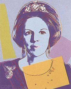 Signatur Von Andy Warhol Andy Warhol Queen Beatrix Of The