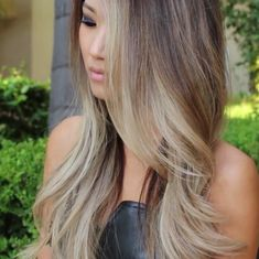 Just 3 more days and my hair will be just like this. UGH, the anticipation!!!! D: D: Guy Tang inspired: Balayage Ombre - ash blonde