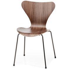 Fritz Hansen Series 7 Side Chair - Wood Veneer