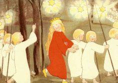 Prinzesschen auf dem Heimweg - Sibylle von Olfers