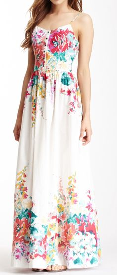Women White Floral Dress Winter Retro Boho Printing Long Dress Female Wedding Flowers Maix Dress Women Multicolor V neck Dress Pretty Outfits, Pretty Dresses, Beautiful Dresses, Floral Maxi Dress, Dress Up, Floral Chiffon, Prom Dresses, Summer Dresses, Dress Prom