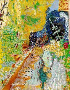 Pierre Bonnard, The Garden (c. 1937) on ArtStack #pierre-bonnard #art