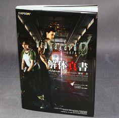 ■ Biohazard® Ø HD Remaster『Books』Kaitai Shinsho  バイオハザード0 HDリマスター 解体真書 by Famitsu-capcom  「Game Guide」Japan Ver. ©CAPCOM カプコン CO.,LTD.2O|б ■